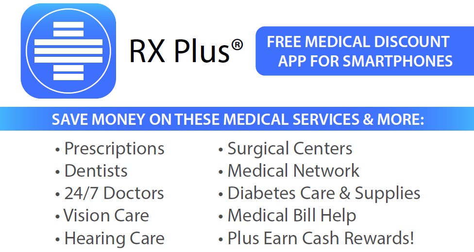 RX Plus Free Medical Discount App